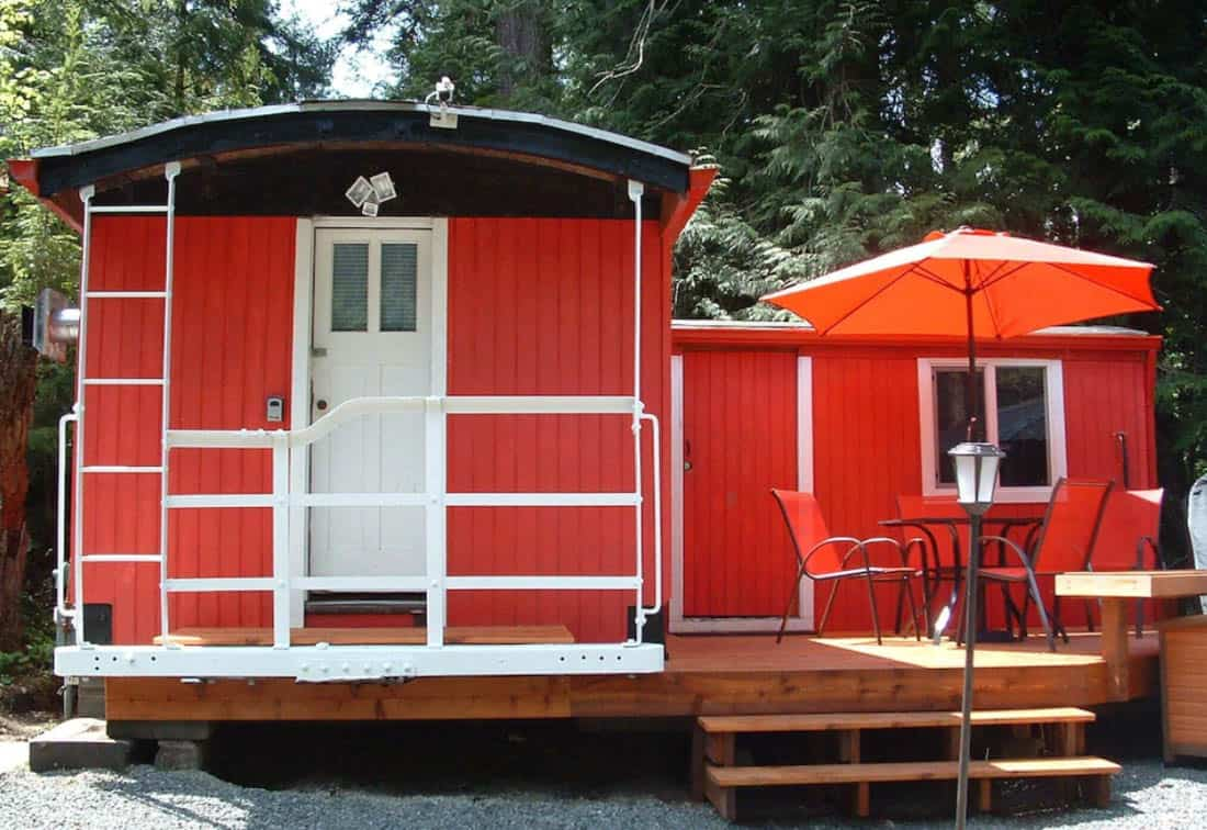 Little Red Caboose WA