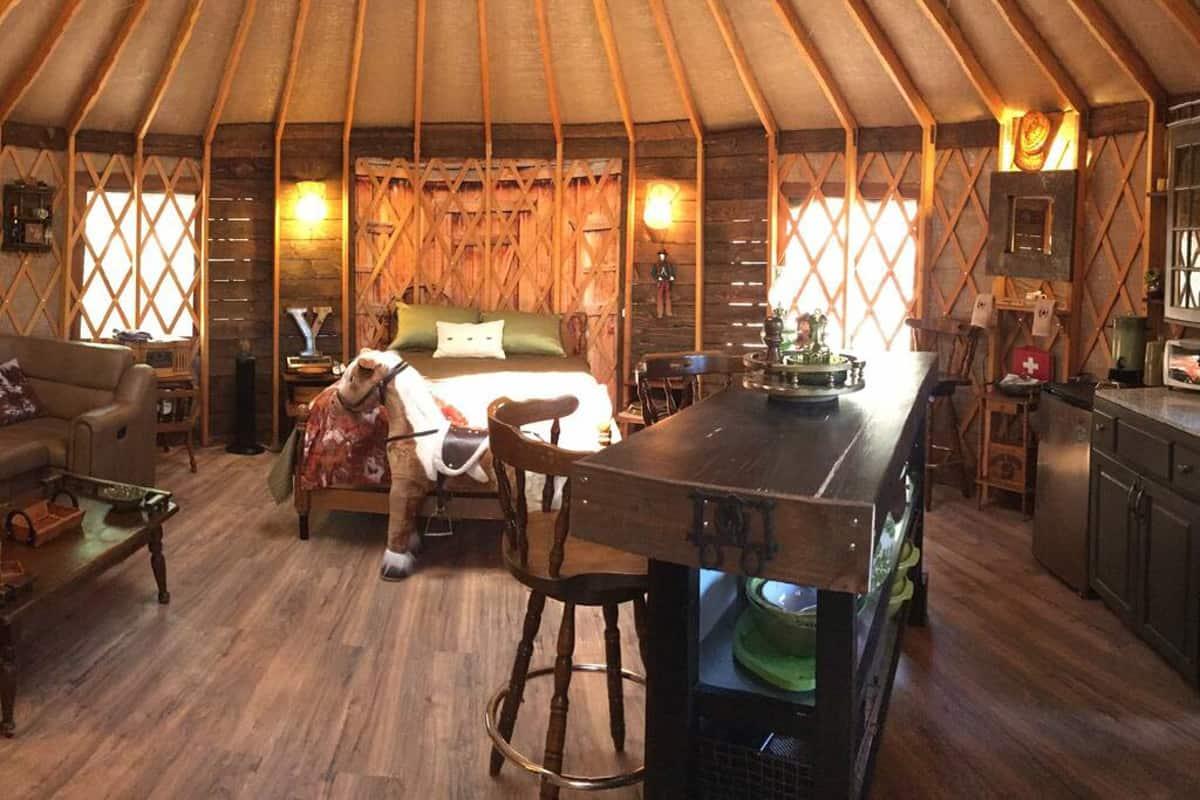 The Westerner Glamping Yurt