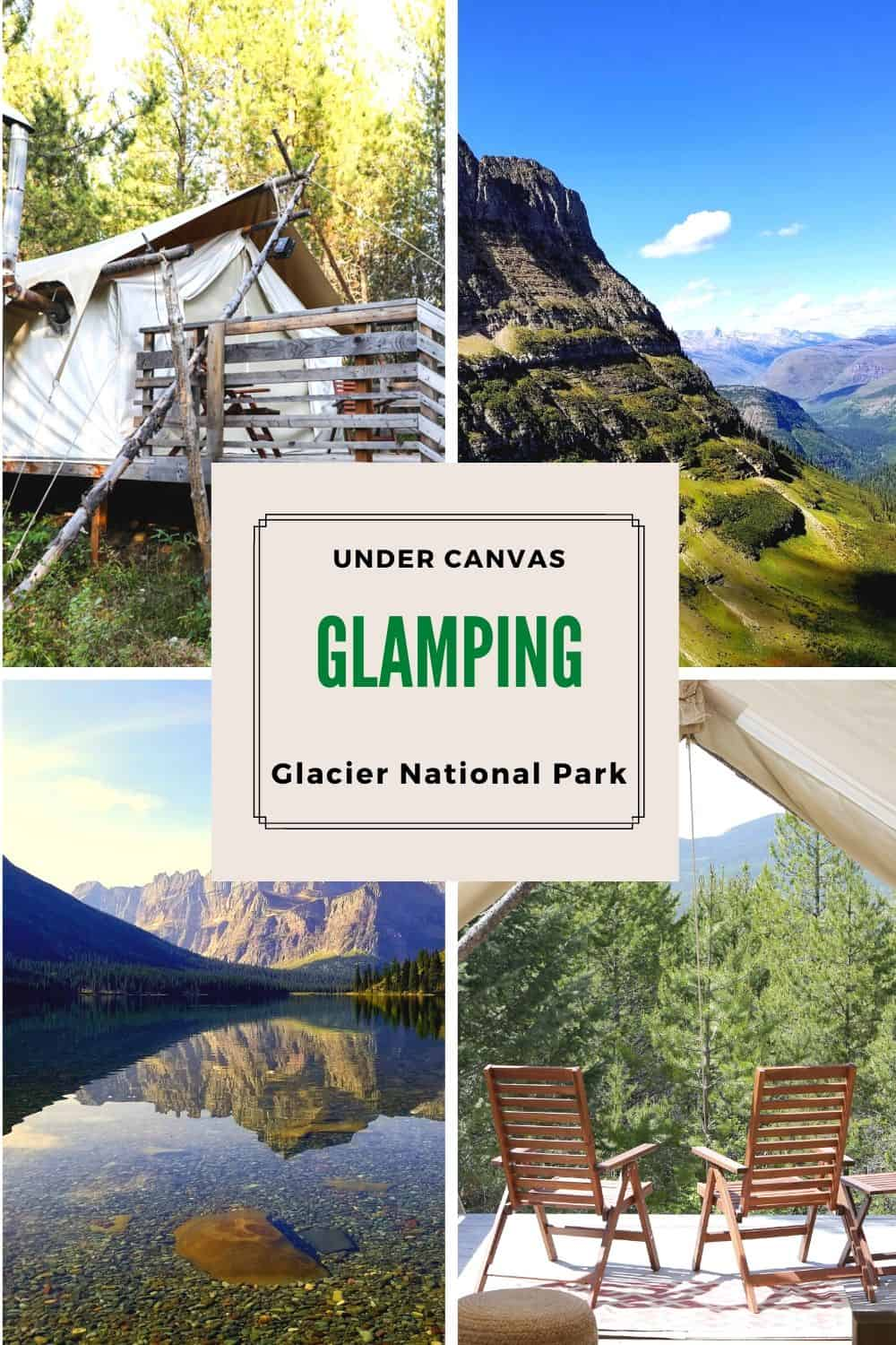 Looking for a unique home base for your Glacier National Park adventure? Book a stay at Under Canvas Glamping Glacier National Park