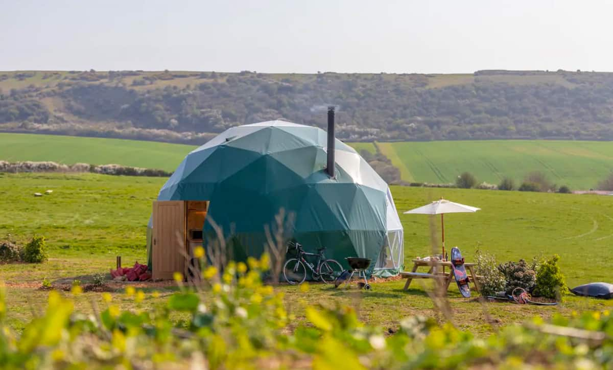 Quirky Glamping New Forest England