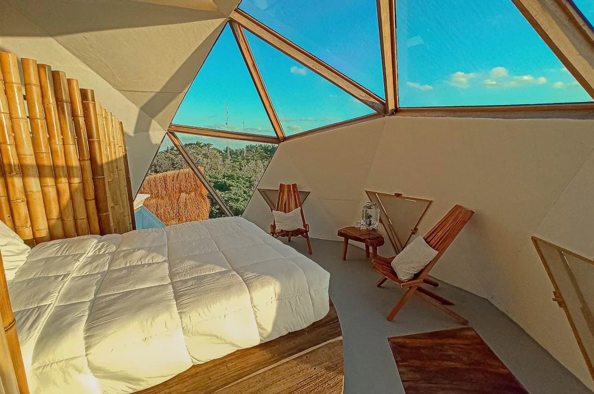 Geodesic Dome Treehouse in Tulum