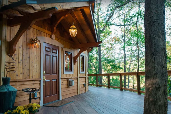 Luxury Asheville Treehouse Castle