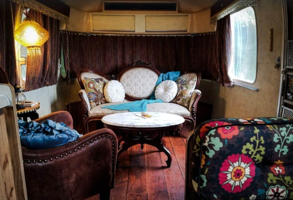 Tennessee glamping Airstream