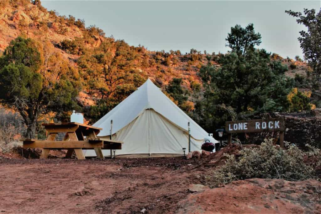 Zion Exotic Camping