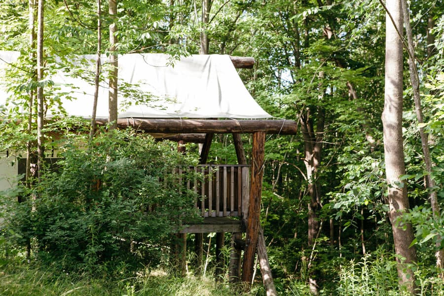 Firelight Camps Glamping Tents New York