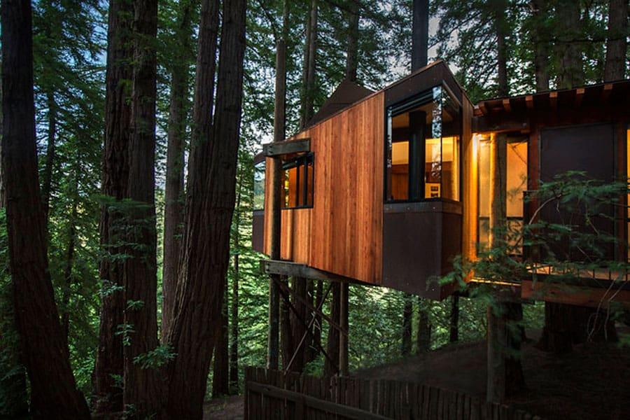 Post Ranch Inn Big Sur Glamping Treehouse
