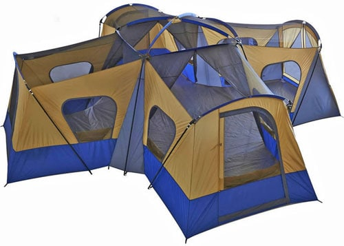 Fortunershop Family Cabin Tent 14 Person Base Camp