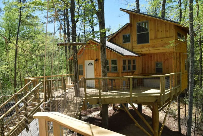 Luxury Pigeon Forge Treehouse Rental by The Treehouse Guys
