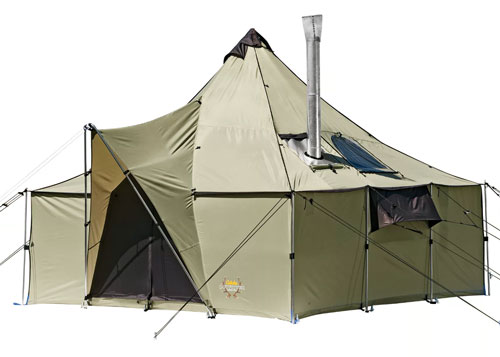 Cabela's Ultimate Alaknak 12'x12' Outfitter Tents for hunting