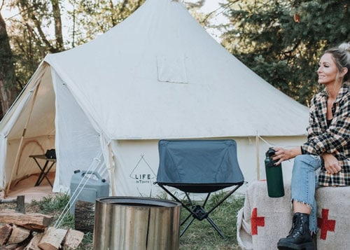 Life In Tents 16' FERNWEH™ BELL TENT