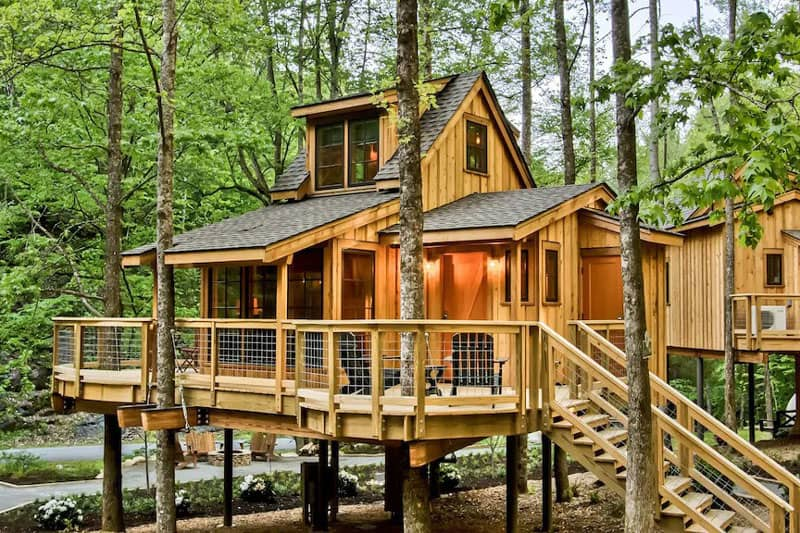 The Poplar Treehouse at Norton Creek