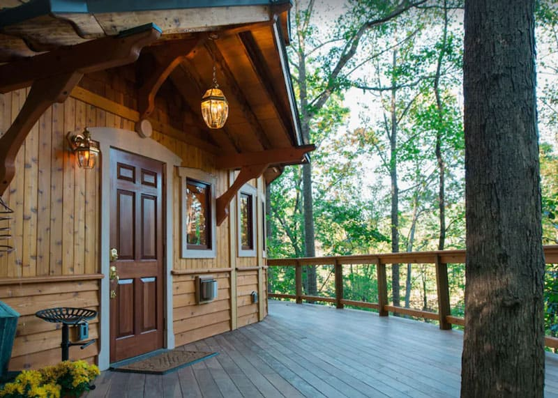 North Carolina Treehouse Castle in the Woods