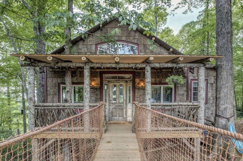 North Carolina Treehouse on The Farm